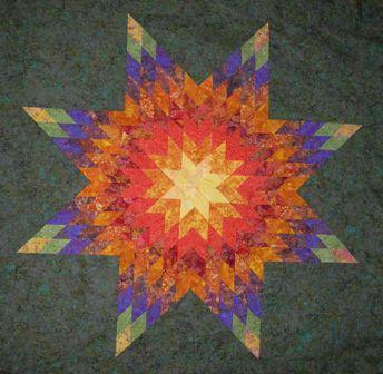 Quilt Pattern Radiant Star : Radiant Star Quilt
